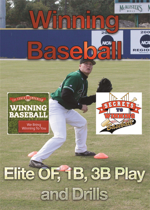 Winning Baseball Presents Download 7 Elite OF,1B,3B Play and Drills